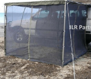 Mosquito Nets Barriers For 2m Terrain Awnings Insect Bug Protection Roof Tent