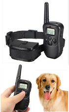 LCD 300M Remote Control Electric Shock Vibrate Pet Dog Training Collar Anti-Bark