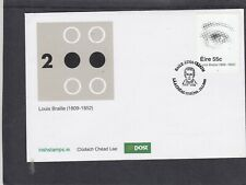 Ireland 2009 Louis Braille Blindness First Day Cover FDC