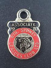 North Sydney Leagues Club membership badge 1980