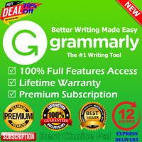 🔥Grammarly Premium Account +Free Bonus Premium Account with Lifetime Warranty✔️