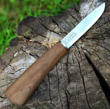 "8"" Fixed blade Knife Bushcraft Handmade Custom Outdoor EDC Hunting Wood Handle"