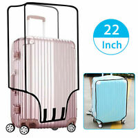 """Waterproof Transparent Travel Protective Luggage Suitcase Cover Protector 22-28"""""""