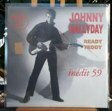 """Rare Maxi 45T 12"""" Johnny hallyday  Ready Teddy Inédit 59  Neuf Scellé Couleur"""