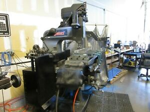 Bridgeport Boss with 3 axis Centroid M39 CNC retrofit