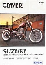 Clymer Repair Manual for Suzuki LS650 Savage Boulevard S40 (1986-2012) M384-5