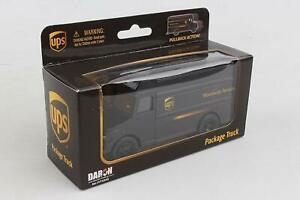 """New Daron UPS Delivery Truck Car Model  5.5"""" Lengths RLT4349 Pullback Truck"""
