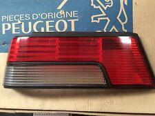 GENUINE PEUGEOT 405 Mk1 Mi16 SRI 1988-92 saloon LEFT O/S REAR LIGHT LENS 635223