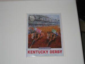 2021 Official Kentucky Derby Program (Medina Spirit)