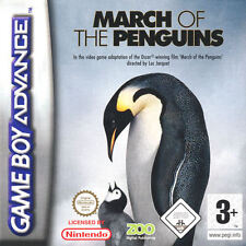 March Of The Penguins for Game Boy Advance L@@K New !!!