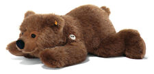 STEIFF Urs Brown Bear 45cm EAN 070037 baby grizzly Plush soft toy New