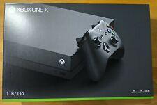 Microsoft Xbox One X 1TB 4K Console - Black Model 1787