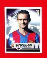 SUPERLIGA Panini 2002-2003 03 -Figurina-Sticker n. 113 - OVERMARS -BARCELONA-New