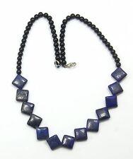 Women's Blue Lapis Lazuli beaded necklace Jewellery