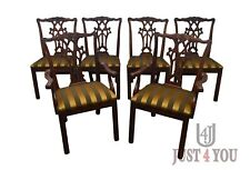 Henredon Set of 6 Mahogany Dining Chairs