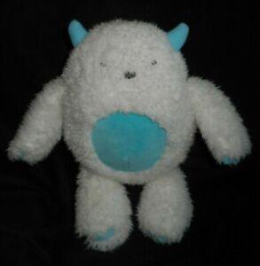 CARTER'S BABY WHITE BLUE ABOMINABLE SNOWMAN YETI 66939 STUFFED ANIMAL PLUSH TOY