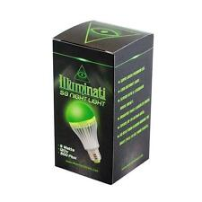 Illuminati Super Green 5w LED Night Light - Grow Room Hydro SPectrum NEW!