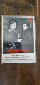 1965 FLEER HOGANS HOGAN'S HEROES CARD TRUTH MATE LIVERWURST SANDWICH IN THERE 40
