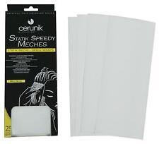 """Papier pour mèches """"coloration cheveux, poudre décolorante, teinture, oxydant"""""""