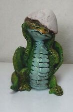 Charles R McClung Fantasy Baby Dragon Egg resin Figurine Cast of Thousands Rare