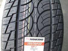 2 New 255/30R22 Nankang SP-7 Tires 2553022 255 30 22 R22 30R