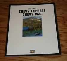 Original 1997 Chevrolet Express / Chevy Van Sales Brochure 97