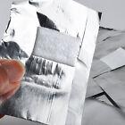 100* FEUILLE Nail Art Tremper Salon Gel Acrylique Vernis ongle paillettes
