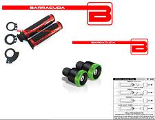 MANOPOLE ROSSE + CONTRAPPESI B-LUX VERDI + ADATTATORI per YAMAHA T-MAX 500