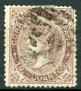 1868. 19 CUARTOS USADO. EDIFIL 101