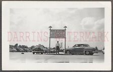 Vintage Car Photo 1952 & 1953 Plymouth Automobile at Omaha Airport NE 662531