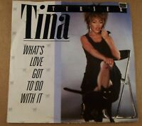 "Tina Turner : What's Love Got To Do With It : Vintage 7"" Single from 1984."