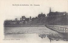 STE EMILIE DE LOTBINIÈRE Quebec Canada 1901-7 Carte Postale J.P. Garneau 172