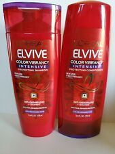 LOREAL COLOR VIBRANCY INTENSIVE SHAMPOO & CONDITIONER 12.6 OZ - BRAND NEW