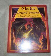 Merlin And The Dragons Of Atlantis. Rita And Tim Hildebrandt.