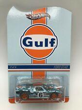 Hot Wheels RLC Gulf Racing Series Ford GT40 MIMC Ships W/Protector