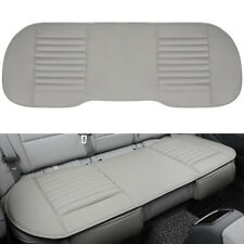 Universal Rear Back Car Seat Cover Protector PU Leather Mat Pad Chair Cushion