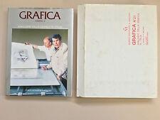 Grafica numero 21 Annuario della grafica in Italia di Orlandini G. Mondadori 92