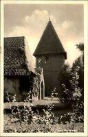 Steinhorst Niedersachsen s/w AK ~1950/60 Blick auf die St. Georgs Kirche Wiese