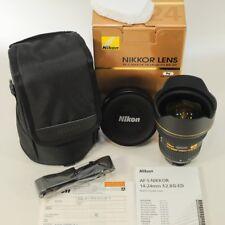 Nikon AF-S Nikkor 14-24mm f/2,8G ED Nano//wie neu // komplett // vom Fotohändler