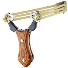 Steinschleuder Slingshot Präzise Zwille Sportschleuder Schleuder Stahl Katapult