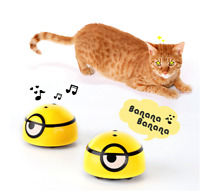 Minion Cat Toy Interactive Automatic Song Toy Running for Cat Kitten Dog Kids