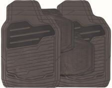 BLACK Set of 4 Heavy Duty Rubber Carpet Mats (RM123) MC18/02