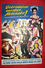 WELCOME MR.MARSHALL 1953 SPANISH LOLITA SEVILLA MANOLO MORAN EXYU MOVIE POSTER