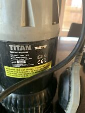 More details for titan ttb582pmp 750w mains-powered dirty water pump and 10 m suction hose