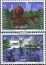 Switzerland 1349-1350 (complete issue) FDC 1987 modern.Architecture