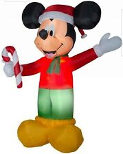 Gemmy Christmas Airblown Inflatable Disney Mickey Mouse gift 9 foot