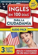 Ingl�s en 100 d�as para la Ciudadan�a Audio PK by Aguilar (2012, Paperback)