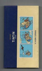 Petit AGENDA TINTIN 1998. Format 9,5 x 17 cm Cartonné. SCEPTRE D'OTTOKAR