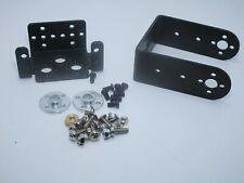 Kit braccio robotico meccanico pan e tilt in metallo per servomotore rc mg995