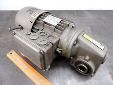 Nord Electric Motor 230460 3 Ph Speed Reducer Gear Drive Fits Conveyor Unicase